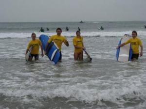 The Surf Team, photo by Jacqui Cochran of 'Experience This'