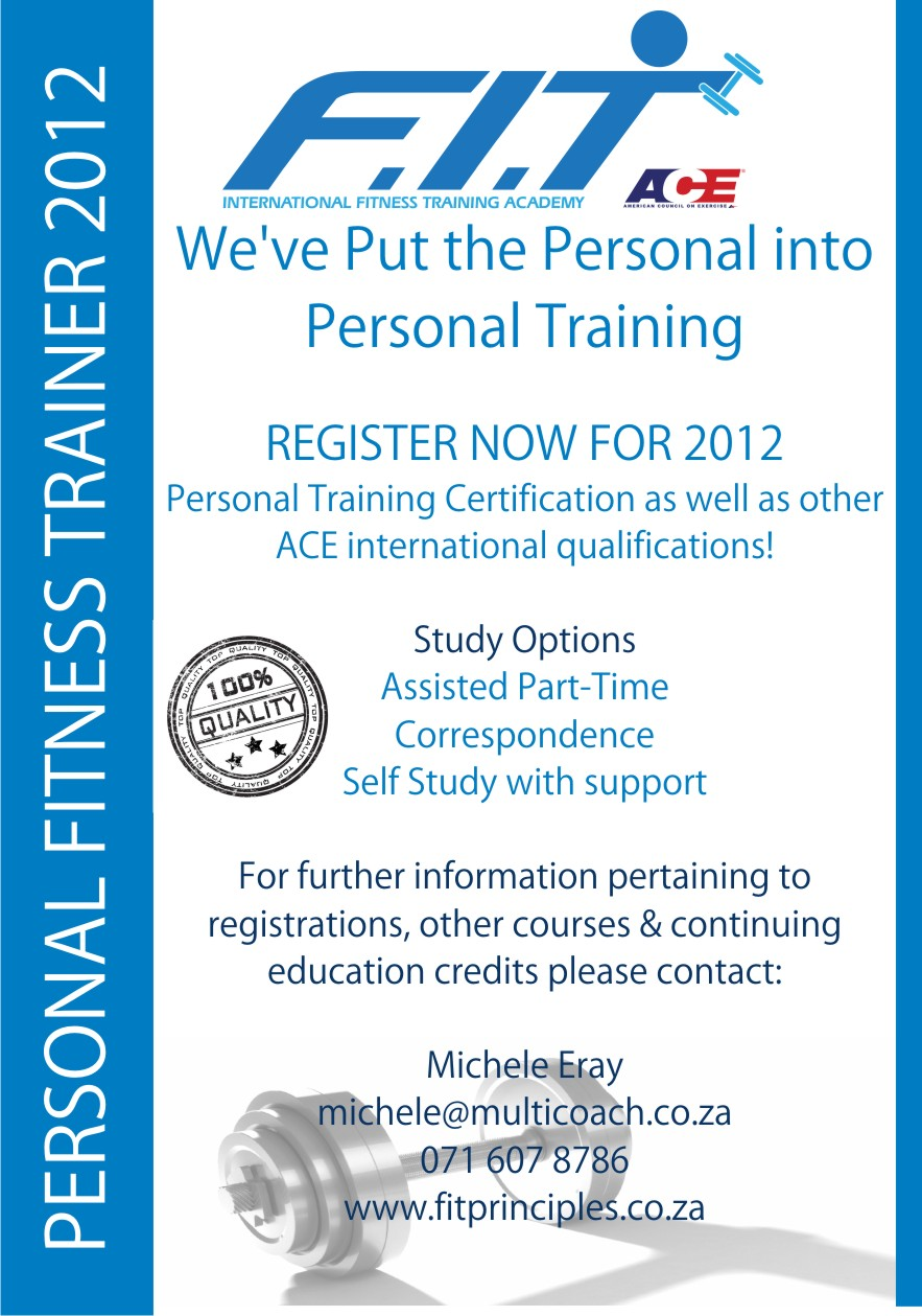 Ace Personal Training Course Micheray