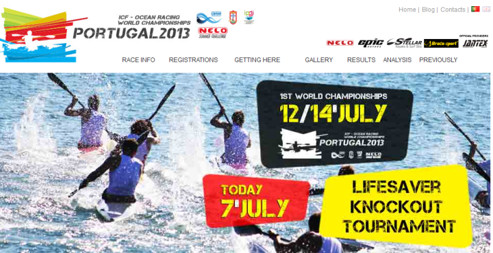icf world ski champs website